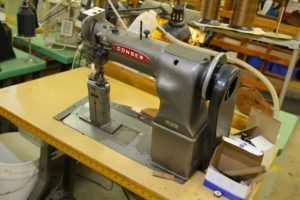Rancourt & Co. factory sewing machine