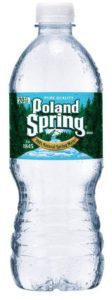 Poland Spring Water Bottle Image