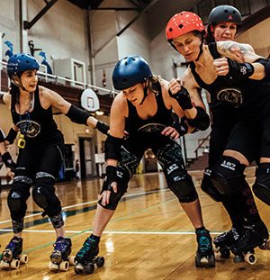 Roller Derby in Lewiston-Auburn Maine