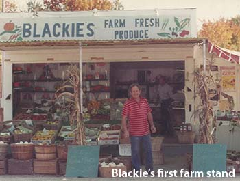 Blackie's First Farm Stand - LA Metro Magazine Story Image