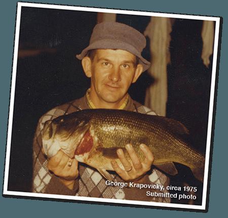 George Krapovicky, Circa 1975 - LA Metro Magazine - Fishing Story