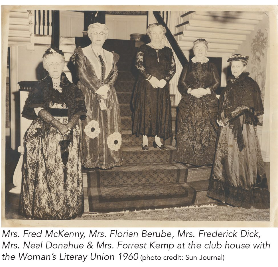 Women's Literary Union Circa 1960 - Ella Foss Mansion