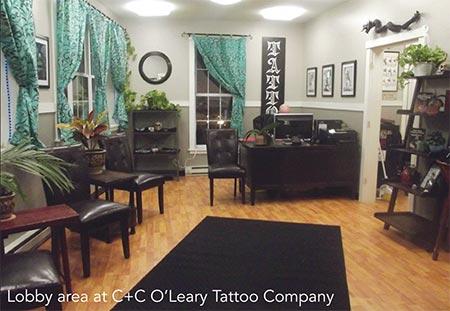 C & C O' Leary Tattoo Company - Featured in LA Metro Magazine