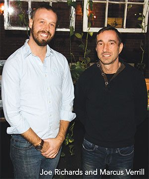 Lava Fondue Lounge Owners Joe Richards and Marcus Verrill