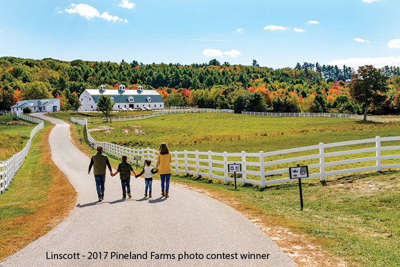 Family Walking at Pineland Farms - LA Metro Magazine