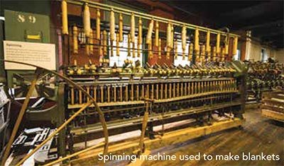A Spinning Machine from a Lewiston Maine Mill - Museum LA