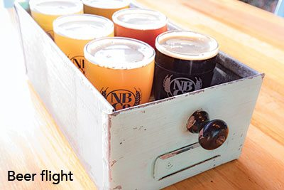 Beer Flight from Norway Brewing Company