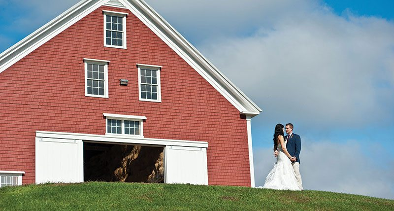 Wedding Photo at Pineland Farms