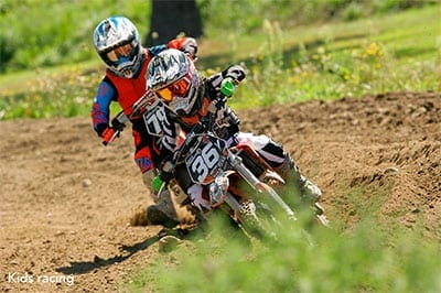 Racers at Hemond's MX - Minot Maine