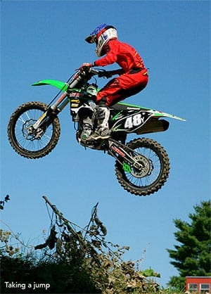 Taking at Jump - Hemond's MX