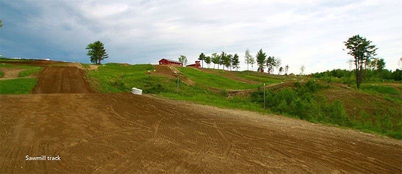 Sawmill Track at Hemond's MX - Minot Maine
