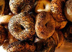 Bagels at Forage Market