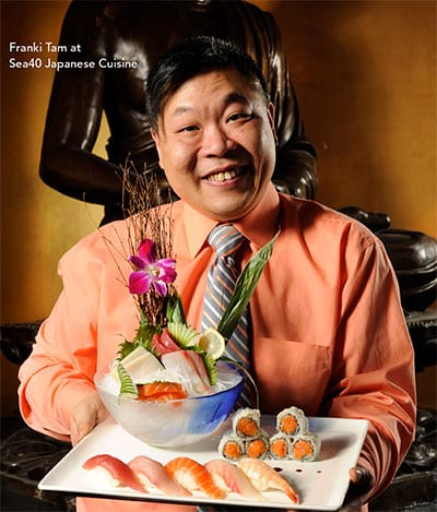 Frank Tam Owner of Sea40 Japanese Cuisine Lewiston Maine - LA Metro Magazine