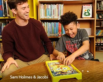 Sam Holmes and Jacobi - Big Brothers, Big Sisters of Mid Maine