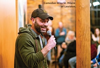 Comedian Mike St. Hilaire of Lewiston - LA Metro Magazine