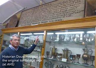 Historian Doug Hodgkin at AHS