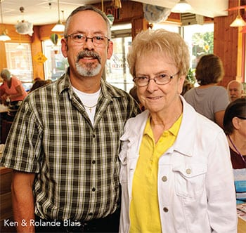 Ken and Rolande Blais of Rolly's Diner - Auburn Maine