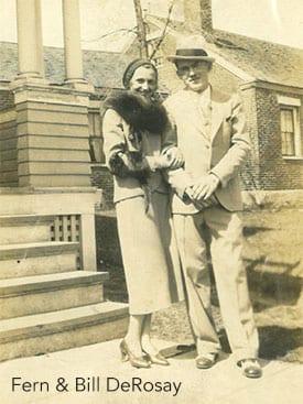 Fern and Bill DeRosay 1938