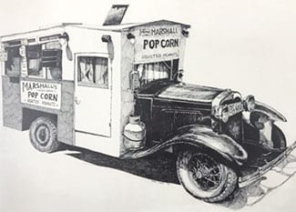 Marshall's Pop Corn and Peanuts Truck