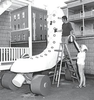 Rollerdrome Centennial Skate Float 1969