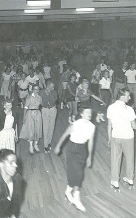 1960's Rollerdrome Crowd - Auburn Maine